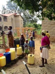 Water is a real need and part of our ministry.
